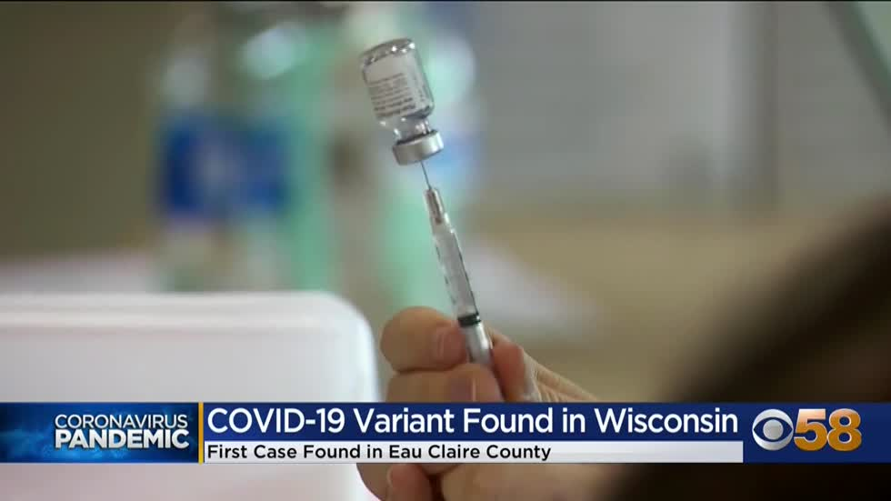 COVID-19 variant 1st found in UK now detected in Wisconsin