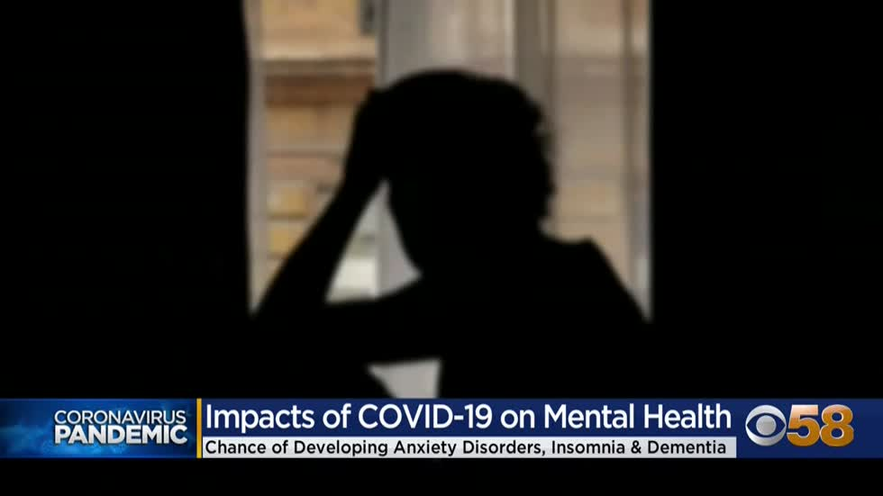 Study finds COVID-19 diagnosis connected to developing psychiatric...