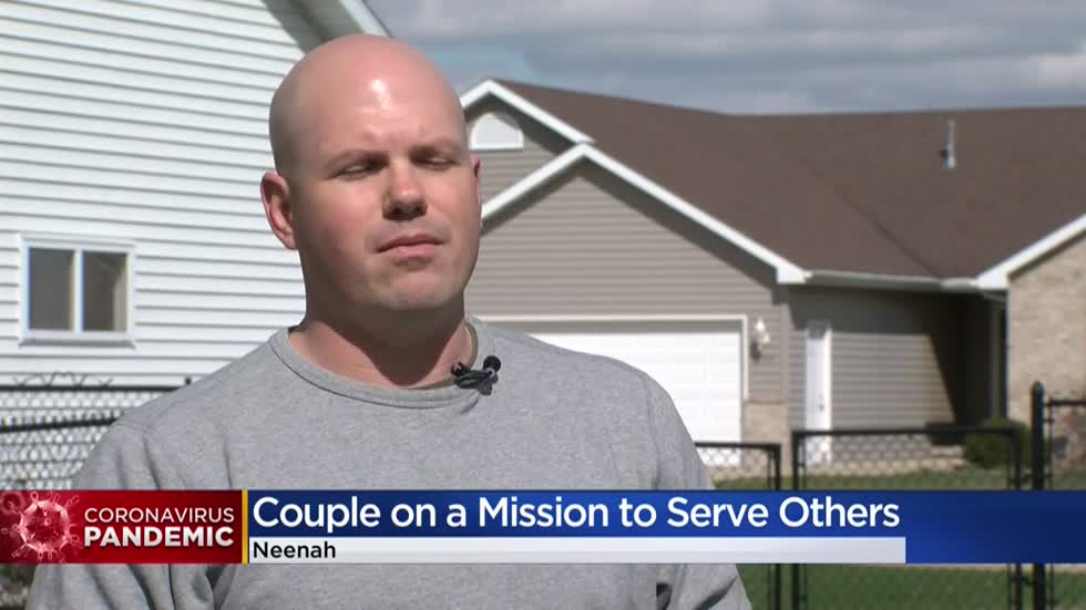 He's in the National Guard, she's a long-term care nurse, COVID-19 has changed their lives