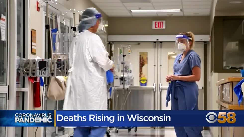 Doctors say death rates will grow if COVID-19 infections continue...