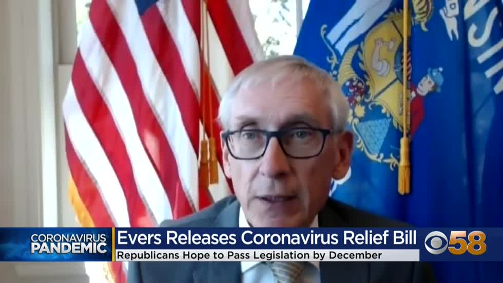 Gov. Evers rolls out coronavirus legislation, Assembly GOP presents ideas, openness to negotiation