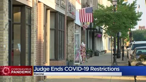 COVID-19 restrictions in City of Racine halted