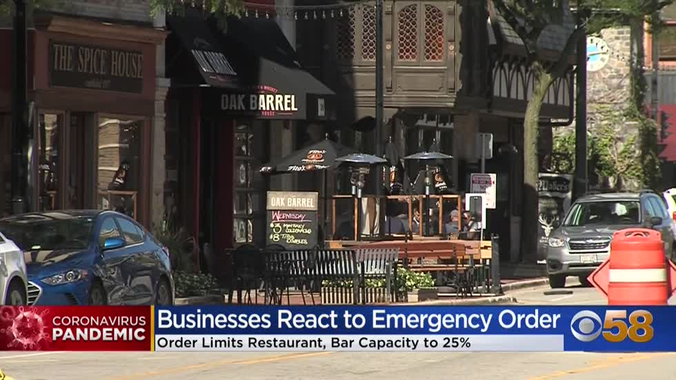 'We're not surviving': Business owners worry about operating at 25% capacity; medical groups support Evers' efforts