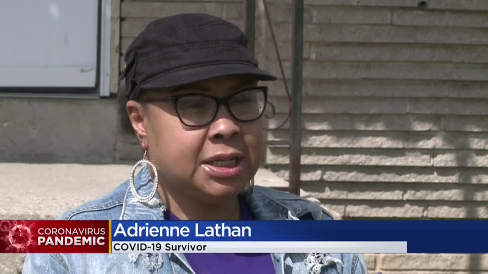 'I thank God every day that I'm still alive:' Milwaukee woman shares experience with coronavirus