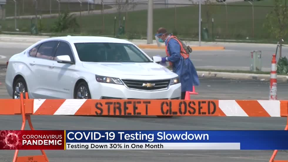 Wisconsin has seen a drop in COVID-19 testing, health officials hope to reverse trend