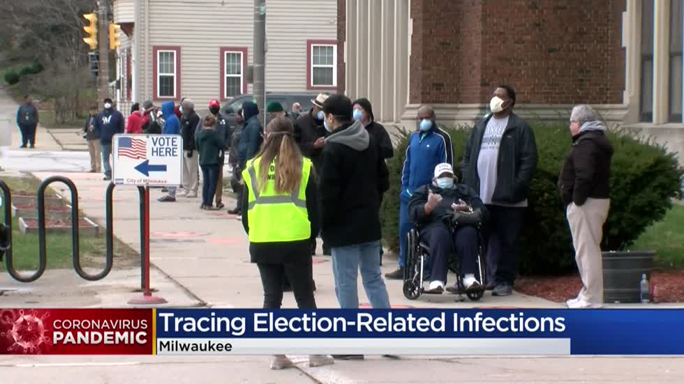 Milwaukee Health Department investigates link between election and COVID-19 cases