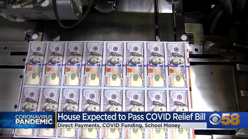 What is Wisconsin getting from the $1.9 trillion COVID relief...