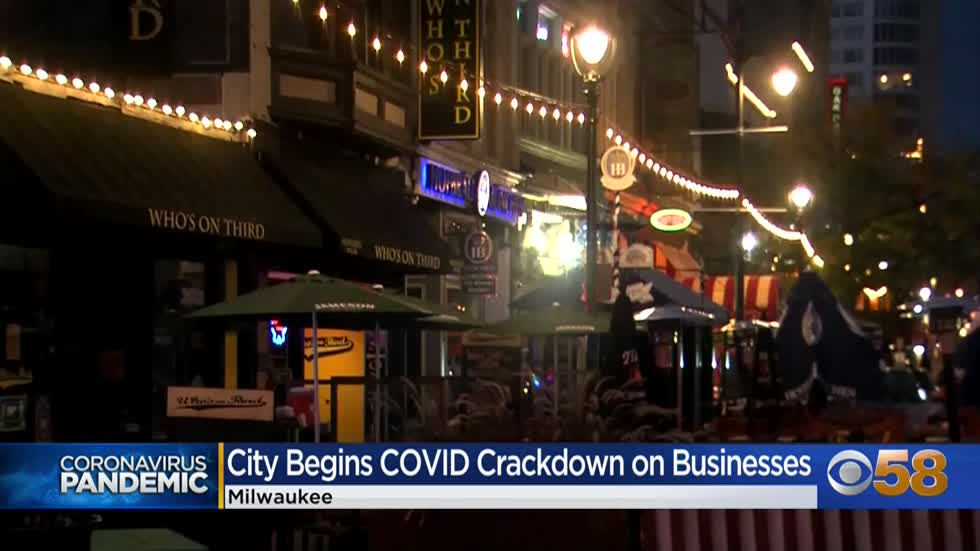 Milwaukee cracking down on bars, businesses as city sees uptick...