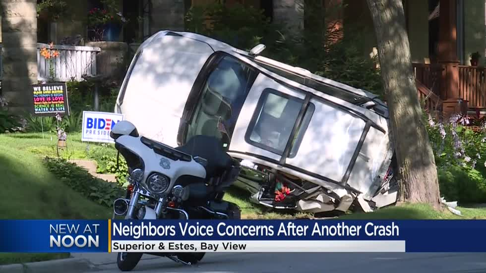 'It's like a runway:' Residents raise concern after multi-vehicle crash in Bay View