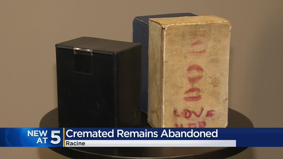 Three different cremains of loved ones found abandoned in Racine County
