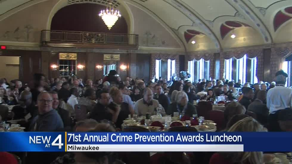 Dozens honored in 71st Crime Prevention Awards luncheon