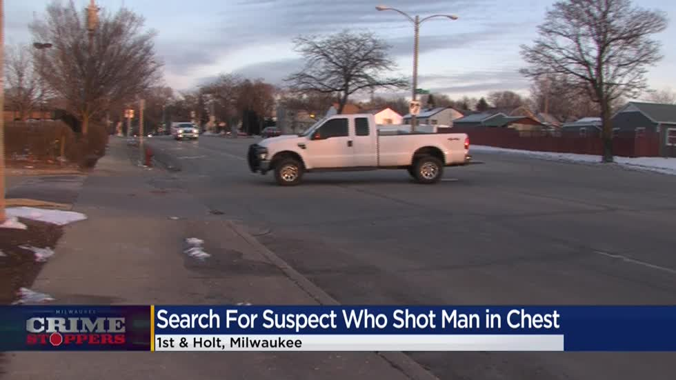 Crime Stoppers Crime of the Week: Search for suspect accused of shooting man during drug deal