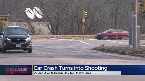 Crime Stoppers Crime of the Week: Crash leads to shooting near Green Bay and Villard