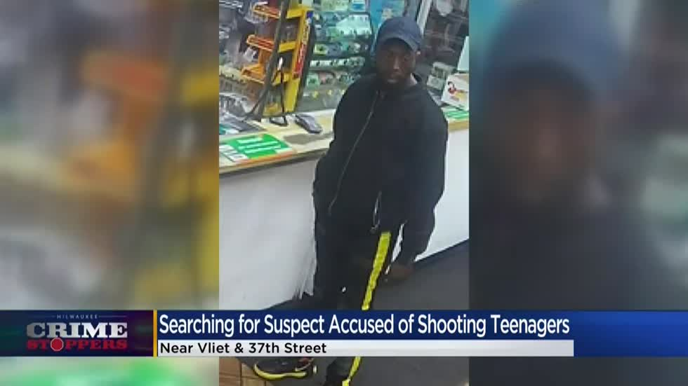Crime Stoppers Crime of the Week: Suspect shot 14-year-old in random act near 37th and Vliet