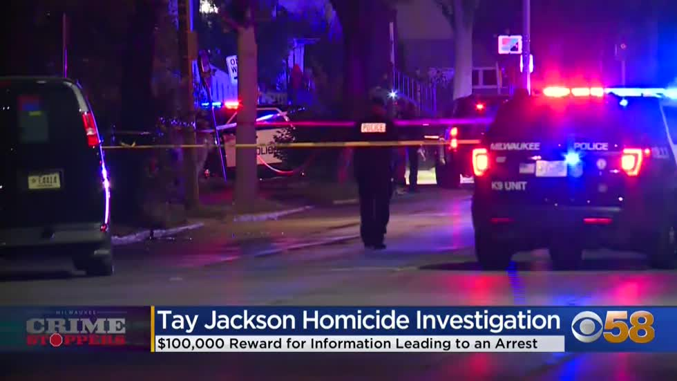 Crime Stoppers Crime of the Week: $100K reward to find Tay Jackson's killer