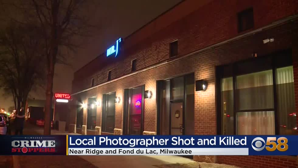 Crime Stoppers Crime of the Week: Well-known photographer gunned down outside Milwaukee lounge