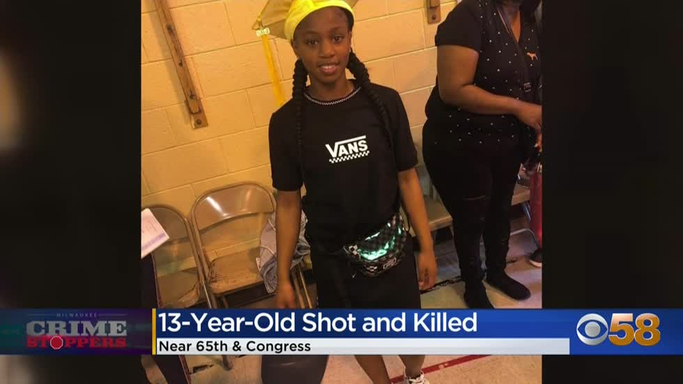Crime Stoppers Crime of the Week: 13-year-old girl killed by gunfire while riding in car