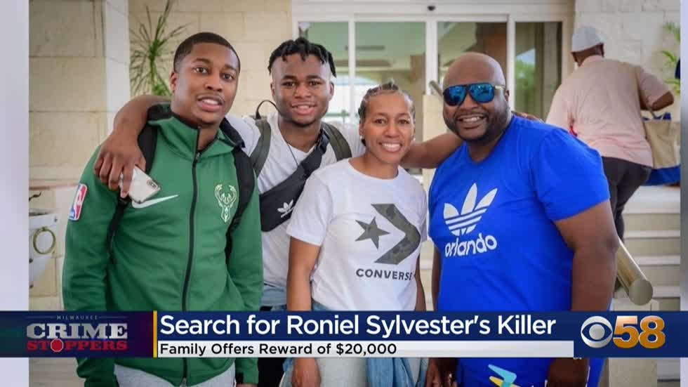 Crime Stoppers Crime of the Week: $20K reward offered for information into Roniel Sylvester's murder
