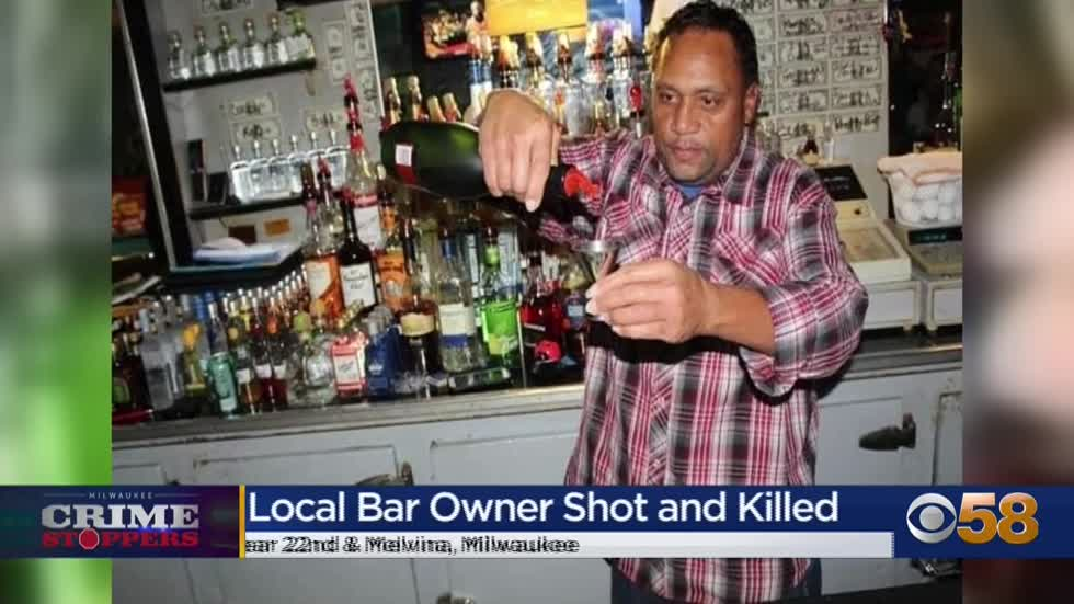Crime Stoppers Crime of the Week: Milwaukee bar owner shot and killed on way home from work