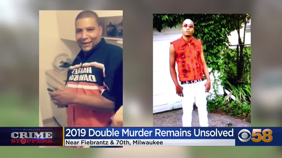 Crime Stoppers Crime of the Week: 2 men gunned down sitting in SUV in Milwaukee