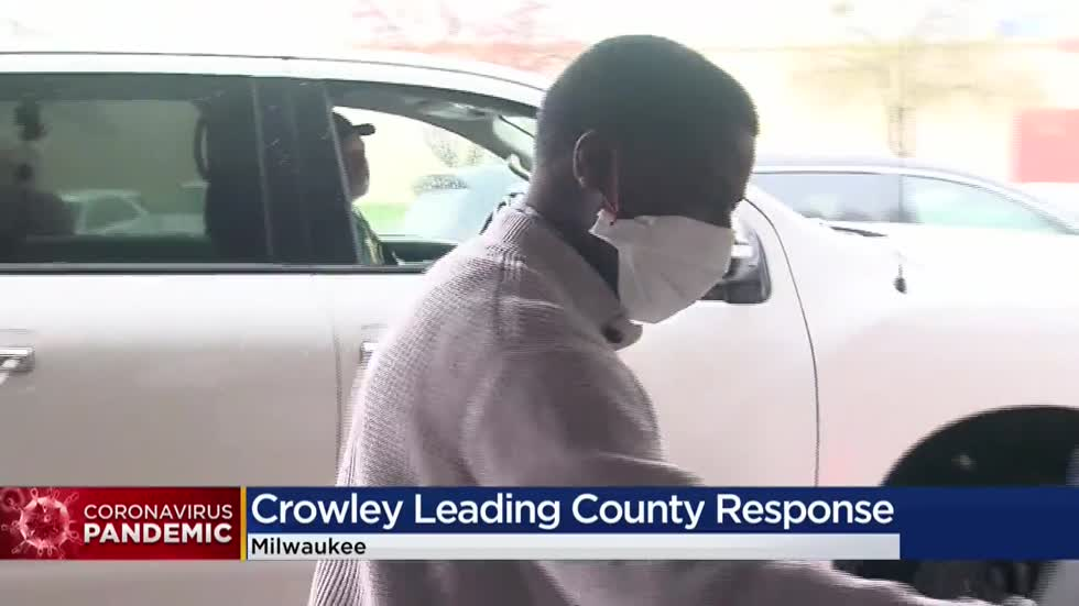 Milwaukee County Executive David Crowley takes over county response to COVID-19 pandemic