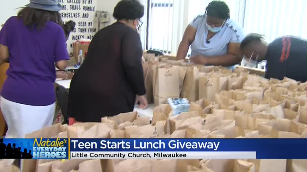 Natalie's Everyday Heroes: Milwaukee teen, Crystal Russell, works to feed those in need
