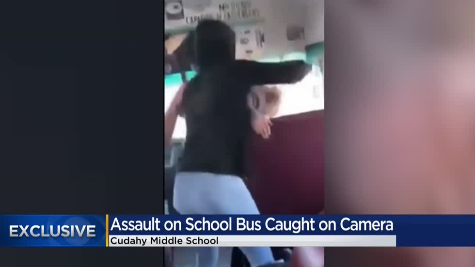 CAUGHT ON CAMERA: Student punches girl repeatedly on Cudahy Middle School bus