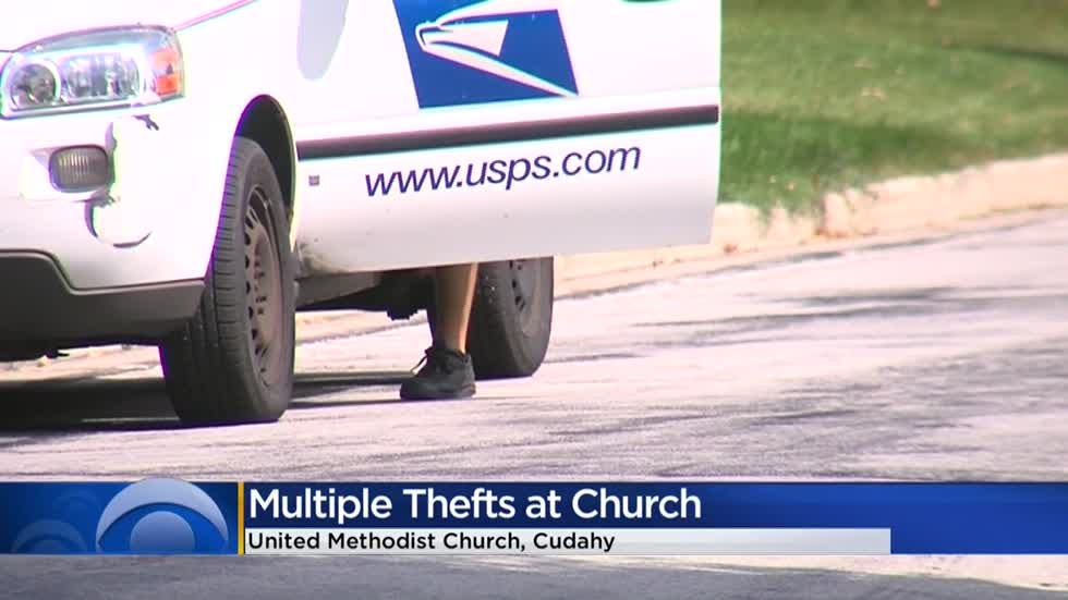 'Take precautions:' Church in Cudahy claims someone has been stealing their mail