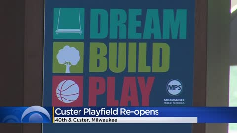 Custer Playfield re-opens near 40th and Custer