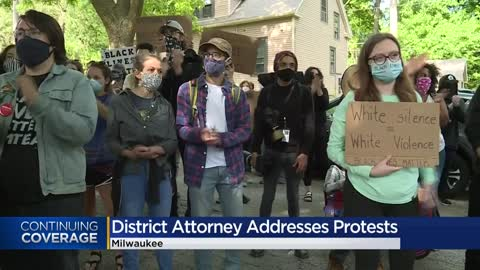 Families demand answers taking black lives protest to Milwaukee Co. district attorney