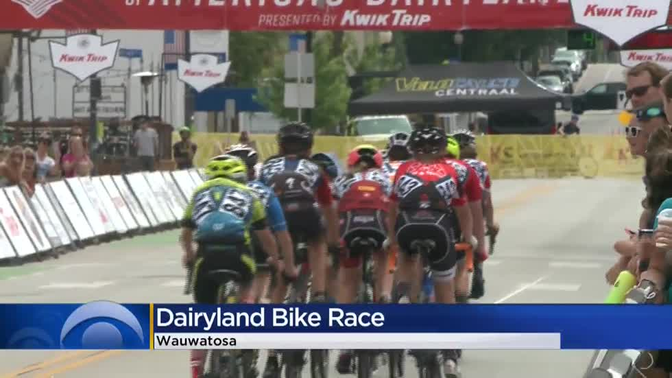 Wauwatosa hosts final day of Tour of America's Dairyland Bike Race
