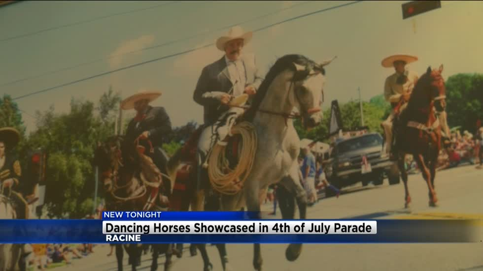 Dancing horses will once again be showcased in Racine's Fourth of July parade
