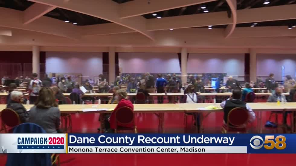 Wisconsin Recount: Day one of Dane County recount signals start of legal battle ahead