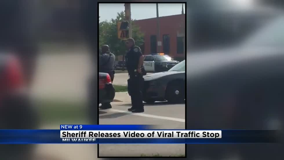Newly released dash cam video shows different perspective of now viral traffic stop in Milwaukee