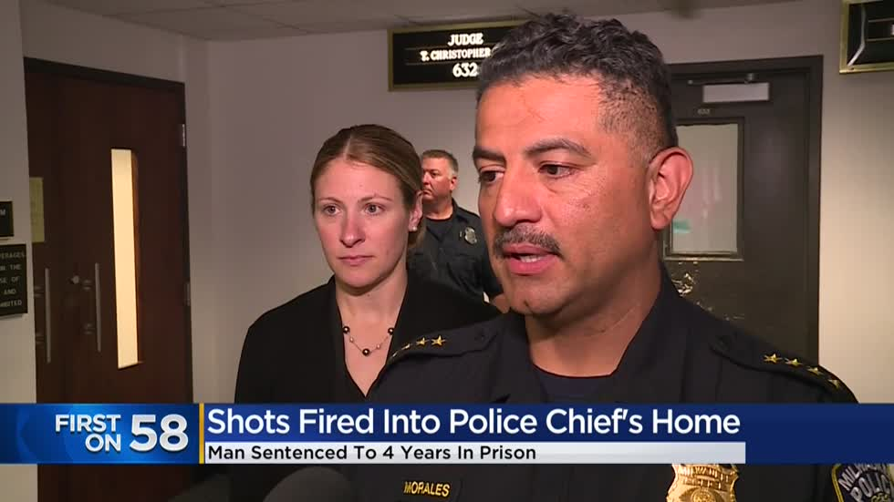 Man sentenced for firing shots into home of Milwaukee Police Chief Morales in 2017