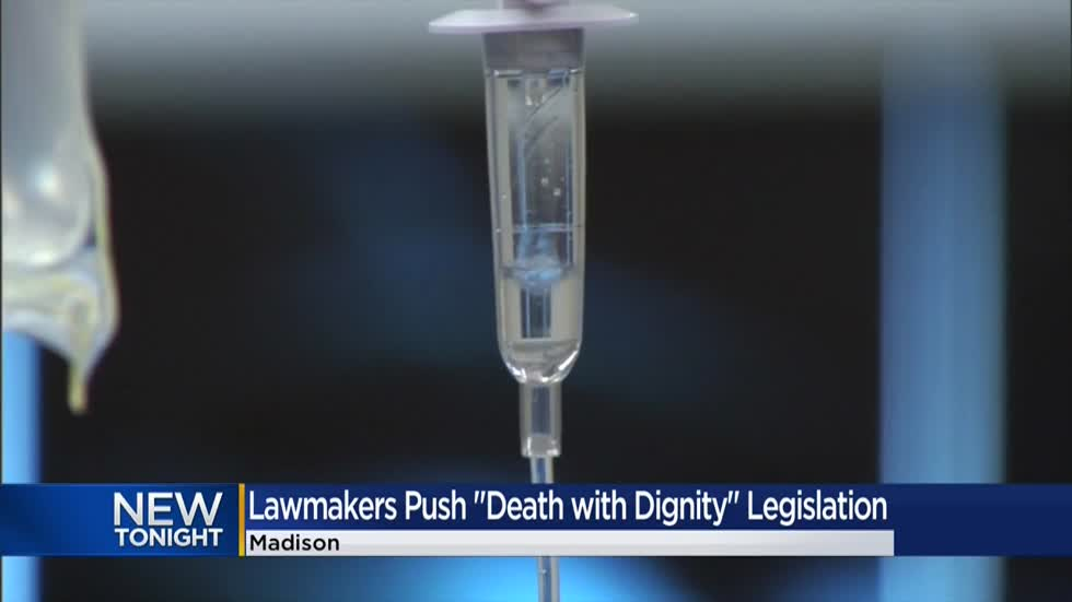 Wisconsin lawmakers introduce legislation that would legalize physician-assisted suicide