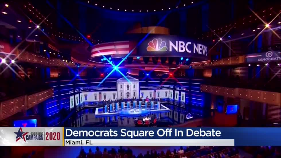 Candidates square off in round two of Democratic Presidential debates