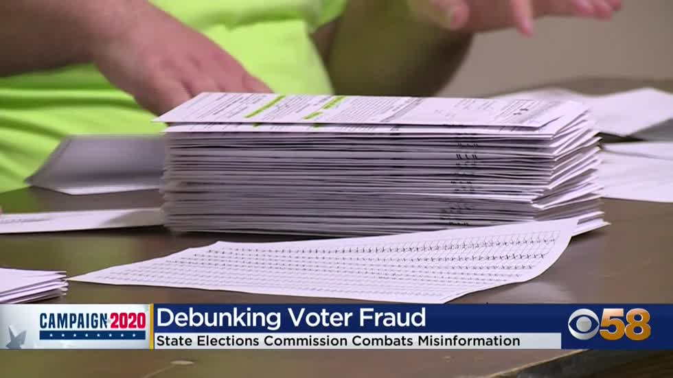 State elections commission debunks fraud claims