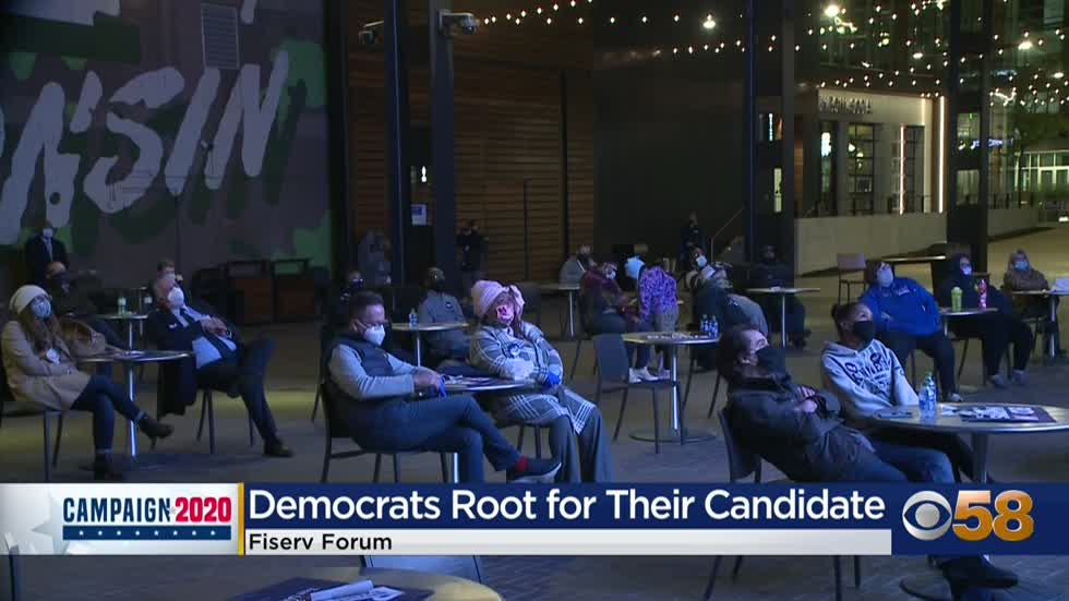 Local democrats react to first presidential debate of 2020
