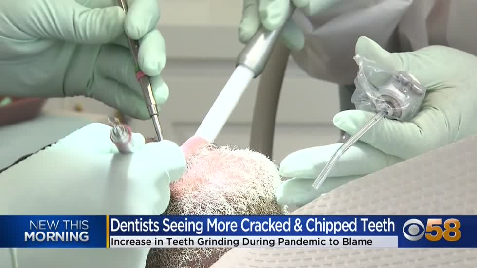 Dentist: More patients coming in with tooth pain since beginning of pandemic
