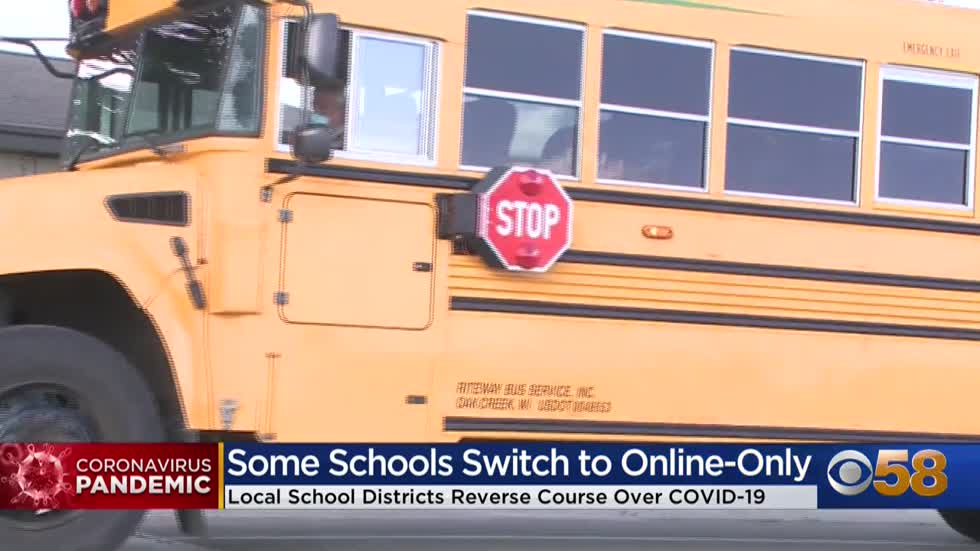 Wisconsin school districts moving different directions in COVID-19 response