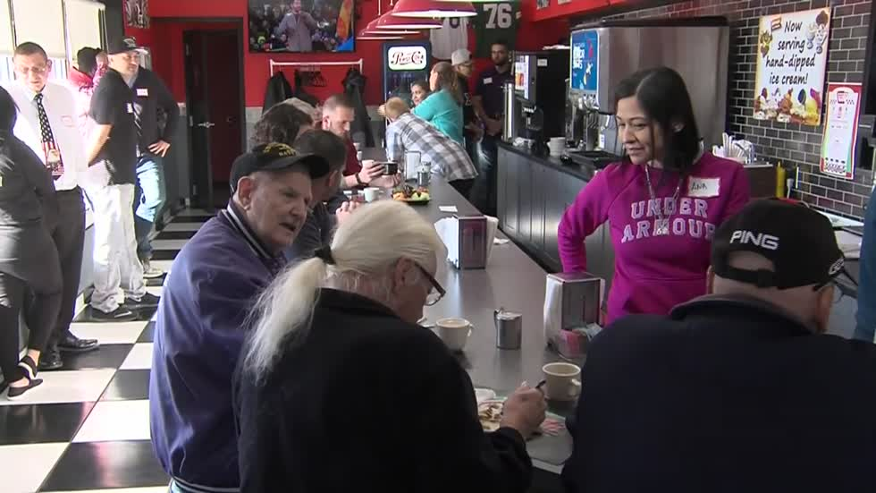 Route 76 Diner celebrating Thanksgiving by giving veterans free meals