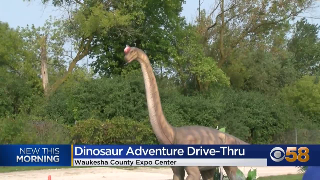 """Waukesha Co. Expo Fairgrounds becomes """"Land of The Giants"""" the next few weekends"""