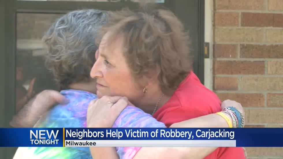 Neighbors team up to help disabled woman who was robbed, beaten and carjacked