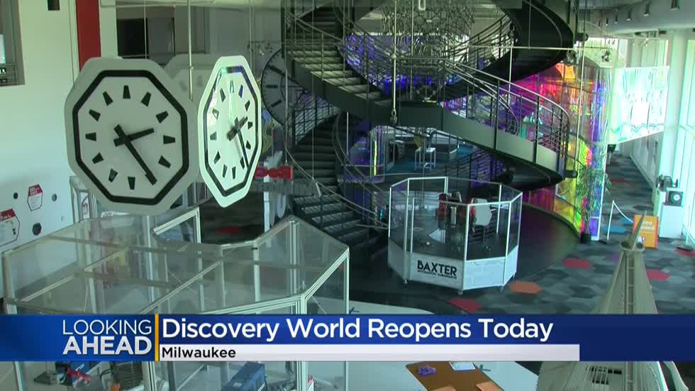 Time to make new discoveries at Discovery World, with museum reopening after 4-month shutdown