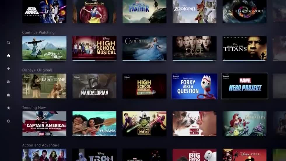 Disney unveils new streaming service at $6.99 per month, less than Netflix