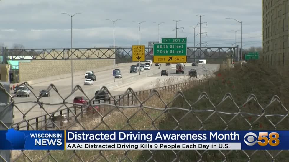 AAA encourages safe driving during National Distracted Driving...