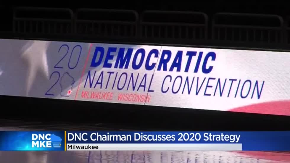 DNC Chairman Perez lays out strategy for Dems to win Wisconsin in 2020