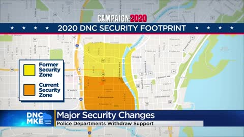 DNC security footprint to get smaller, more police departments withdrawing officers