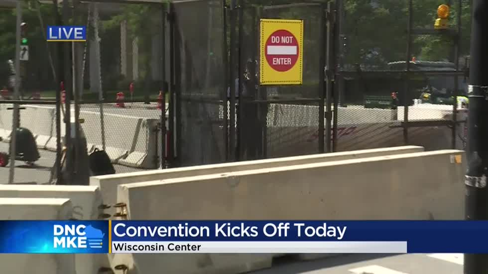 Mostly virtual 2020 Democratic National Convention kicks off in Milwaukee